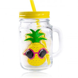 Coffret Mason Jar TROPICAL PARADISE
