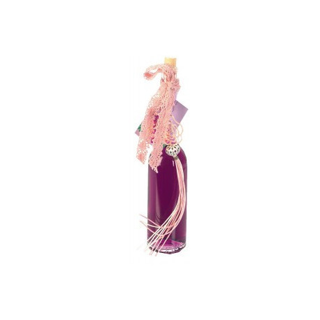 OPERA 100ml, Violet transparent, déco : Rose rose