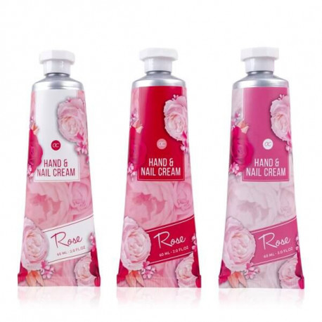Crème mains et ongles ROSE COLLECTION Bullechic