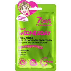 7 DAYS Masque soin visage en tissu EASY WEDNESDAY (Mercredi Cool)