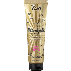 7 DAYS ILLUMINATE ME Shimmering Lait pour le corps MISS CRAZY (Shade 01 Champagn